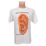 "T-Shirt ""Ohrakupunktur"", Gr. XL"