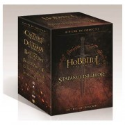 Hobbitul Trilogy & The Lord of the Rings Trilogy - Hobbitul Trilogis si Stapanul Inelelor Trilogia (12 DVD)