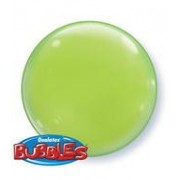 15 Inch Lime Green 3D Bubble Balloons