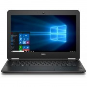 Laptop Dell Latitude E7270 12.5 inch Full HD Intel Core i7-6600U 8GB DDR4 256GB SSD FPR Windows 7 Pro upgrade Windows 10 Pro Black