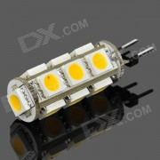 G4 2.6W 90LM Warm White Light 13*5050 SMD LED Corn Cob Bulb (12~16V)