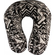 Magasin Abstract Travel Pillow Pack of 1(Monochrome)