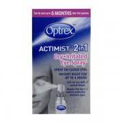 Optrex Spray 2 in 1 Ochi uscati si iritati x10 ml