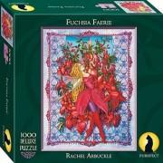Purrfect Puzzles Fuchsia Faerie 1000 Piece Puzzle
