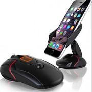 suporte do telefone móvel tipo ventosa de silicone titular / switch de navegação