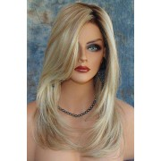 rosegal Charming Synthetic Mixed Color Long Fluffy Wig For Women