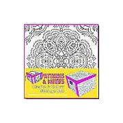 Collapsible Storage Box - Adult Colouring Patterns & Motifs