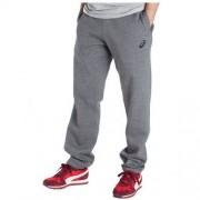 Asics Spodnie dresowe Asics - męskie szare bawełniane