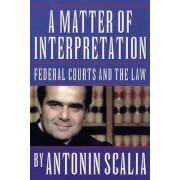 A Matter of Interpretation by Antonin Scalia