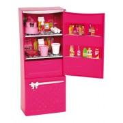 Mattel-X7937-Barbie Glam Frigorifero- Arredamenti basic