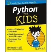 Python for Kids For Dummies by Brendan Scott