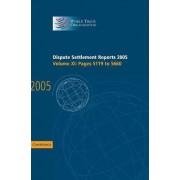 Dispute Settlement Reports 2005 2005 by World Trade Organization