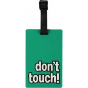 Priya Exports Don'T Touch Luggage Tag(Green)