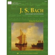 J.s Bach Two-part Inventions (Niel A. Kjos Master Composer Library for Piano Students) by J.S Bach