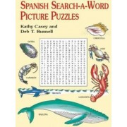 Spanish Search-a-Word Picture Puzzl by Kathy Casey