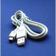 Mini USB CB-USB4 - Cable Cord Lead Wire for Olympus Digital Cameras D-380 D-390 D-395 D-520 D-535 D-540 D-550 D-555 D-560 D-565 D-575 D-580 D-590 D-700 Fe-100 Fe-110 Fe-115 Fe-170 Fe-210 Fe-270 Digital Camera Cable - 2.5 Feet white