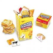 Learning Resources - Stacker Crackers, Gioco educativo, soggetto: Alfabeto [lingua EN/ES/FR/DE]