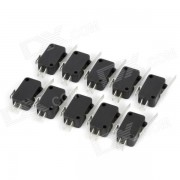 Electrical Power Control 3-Pin Micro Switches (10 PCS)
