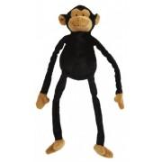 Dierentuindier knuffel chimpansee 35 cm