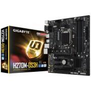 MB, GIGABYTE H270M-DS3H /Intel H270/ DDR4/ LGA1151 (GA-H270M-DS3H)