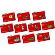 Read Write Inc. Phonics: Red Ditty Books Mixed Pack of 10 by Gill Munton