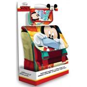 Disney Mickey iskolatáska + töltött tolltartó szett