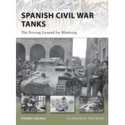 Spanish Civil War Tanks by Steven Zaloga