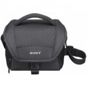 чанта за фотоапарат / видеокамера - Sony LCSU11B Small cam soft case, black - LCSU11B.SYH