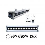 Vision-EL Wall Washer Led 36W (320W) IP 65 DMX Blanc jour