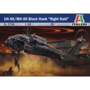Italeri 510002706 Modellino Scala 1:48 UH-60A Black Hawk Night Raid