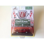 M2 Machines 1:64 Auto Drivers 1970 Ford Mustang Boss 429 Red #12-33