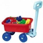 Детска количка с конструктор - макси блокчета - Екоафие - Simba, 041741