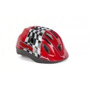 Spiuk Kids - Casco da ciclismo per bambini, colore rosso, taglia 52 - 56