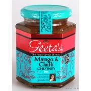 Mangó és Chili Chutney-Geeta's