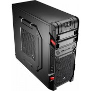 Aerocool GT Black Advance - Midi-Tower Black
