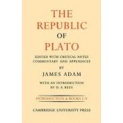 The Republic of Plato: Volume 1, Books I-V: v. 1 by James Adam