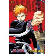 Bleach (3-in-1 Edition), Vol. 1 by Tite Kubo