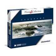 Clementoni - 393534 - Puzzle - Plissons - Blast of Wind Point de Poulain - 1000 Pièces
