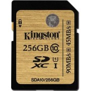 Card memorie Kingston SDXC UHS-I Ultimate 256GB, Clasa 10