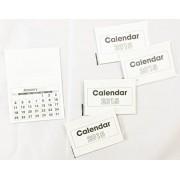 Calendario de 2015de pestañas Almohadillas 5/PK Arts Manualidades navideñas infantiles Kids Mini Libros Gran Escuela de para casa o en la oficina
