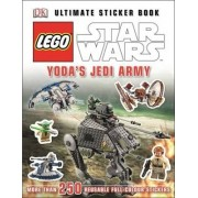 LEGO Star Wars Yoda's Jedi Army Ultimate Sticker Book by DK