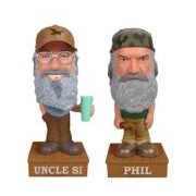 2 Pack Funko POP! Duck Dynasty - Si and Phil Robertson Vinyl Talking Wobbler