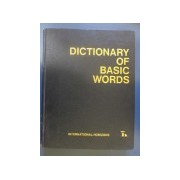 Dictionary Of Basic Words - International Horizons Edition