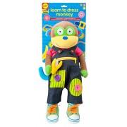 ALEX Toys Giochi educativi Impara a vestirti con Monkey