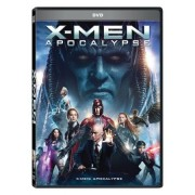 X-Men:Apocalypse:James McAvoy, Michael Fassbender, Jennifer Lawrence - X-Men:Apocalipsa (DVD)