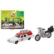Ghostbusters 3 Movie Cadillac 1/64 & Bike 1/50 Scale by Hotwheels DRW73