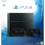 PlayStation 4 1 Tb C Chassis Black + 2° Dualshock, Nero