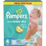 Scutece Pampers Active Baby 4 Mega Box Pack 147 buc