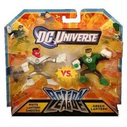 DC Universe Action League White Lantern Sinestro vs Green Lantern Figure 2-Pack