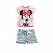 compleu fete Minnie cu pantalon scurt